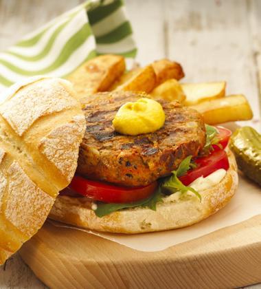 American Style Pork Burger
